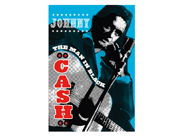Johnny Cash Postcard
